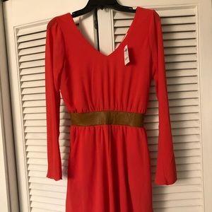 Charlotte Russe Orange Dress
